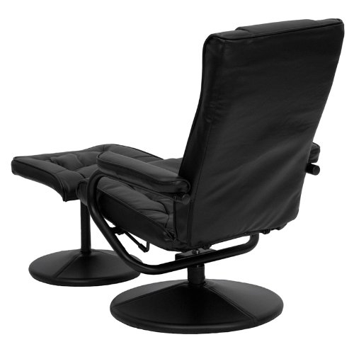 retail price - Black Leather Recliner Chair