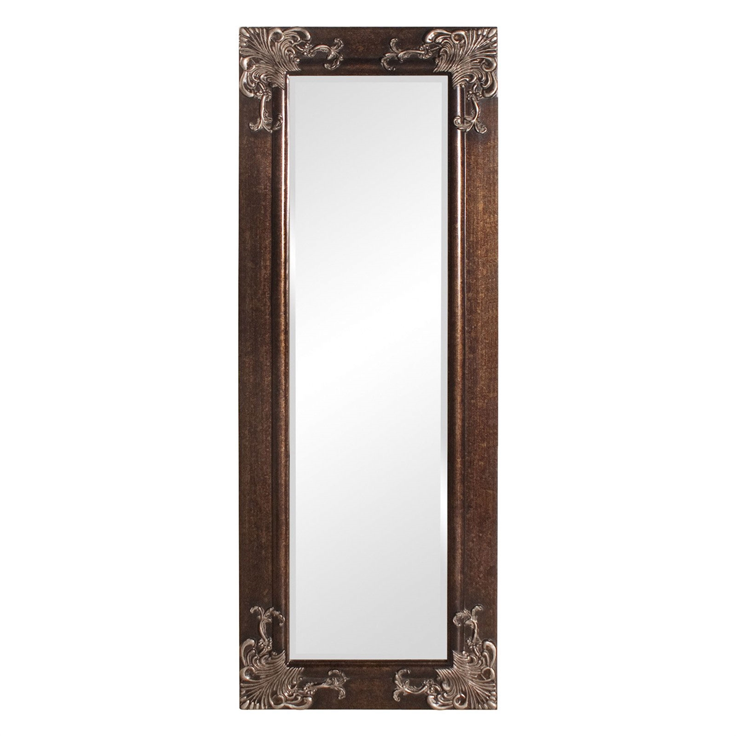 Full length 63 in wall mirror with quality wood frame and for Mirror quality