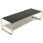 Modern Nesting Table / Long Coffee Table with Steel Frame