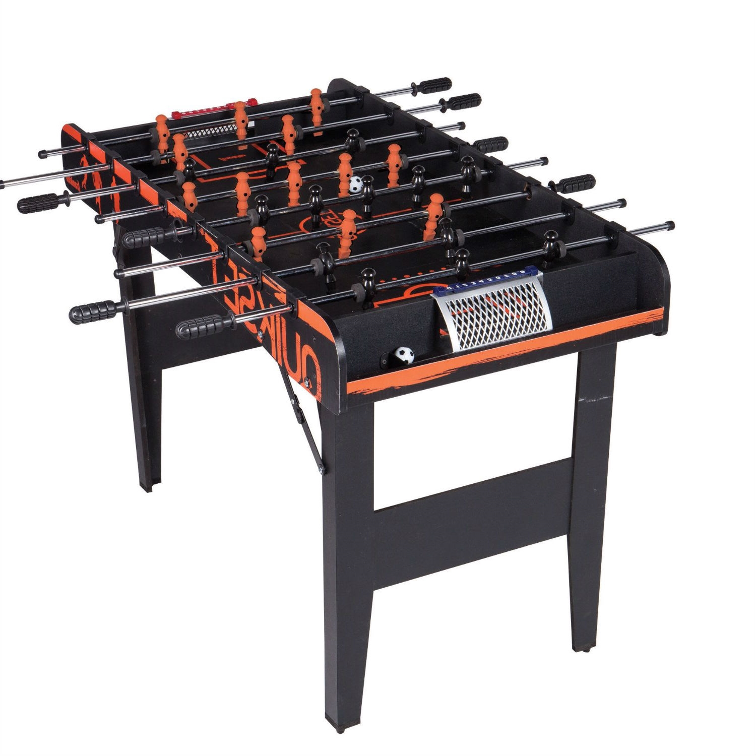 Folding Foosball Table 4 Ft Game Table With 2 Foosballs