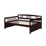 全尺寸现代沙发床(Espresso木饰面)