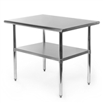 Heavy Duty Stainless Steel 2 x 3 Ft Kitchen Kitchen Prep Table