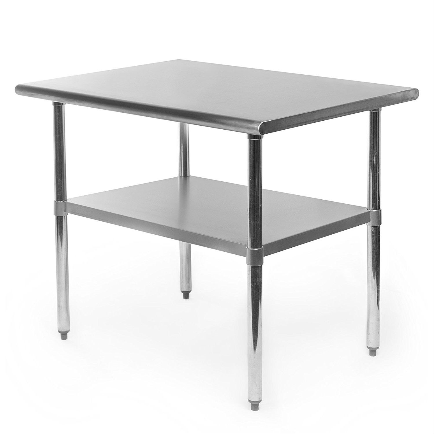 kitchen prep table apartment heavy duty stainless steel ft kitchen prep table