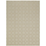 7.5-ft x 9.5-ft Tan Area Rug - Made in USA