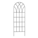 英寸哥特式拱顶金属壁花架,用于家庭花园