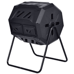 Outdoor 43-Gallon Compost Bin Tumbler Home Garden Composter