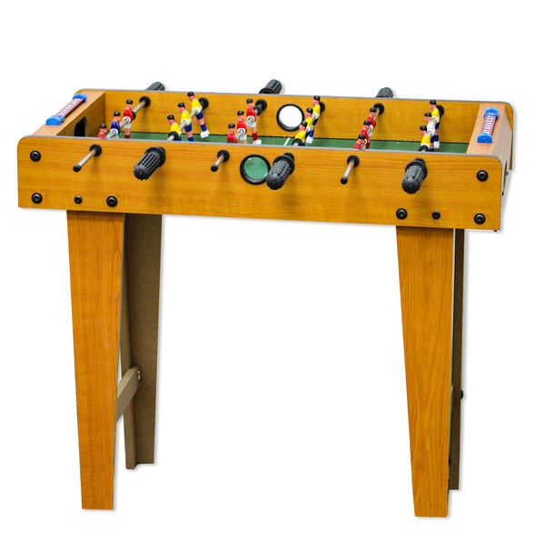 Delicieux Wooden 27 Inch Foosball Table With Legs