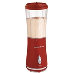 175-Watt Single Serve Personal Blender in Red with Clear BPA Free Jar