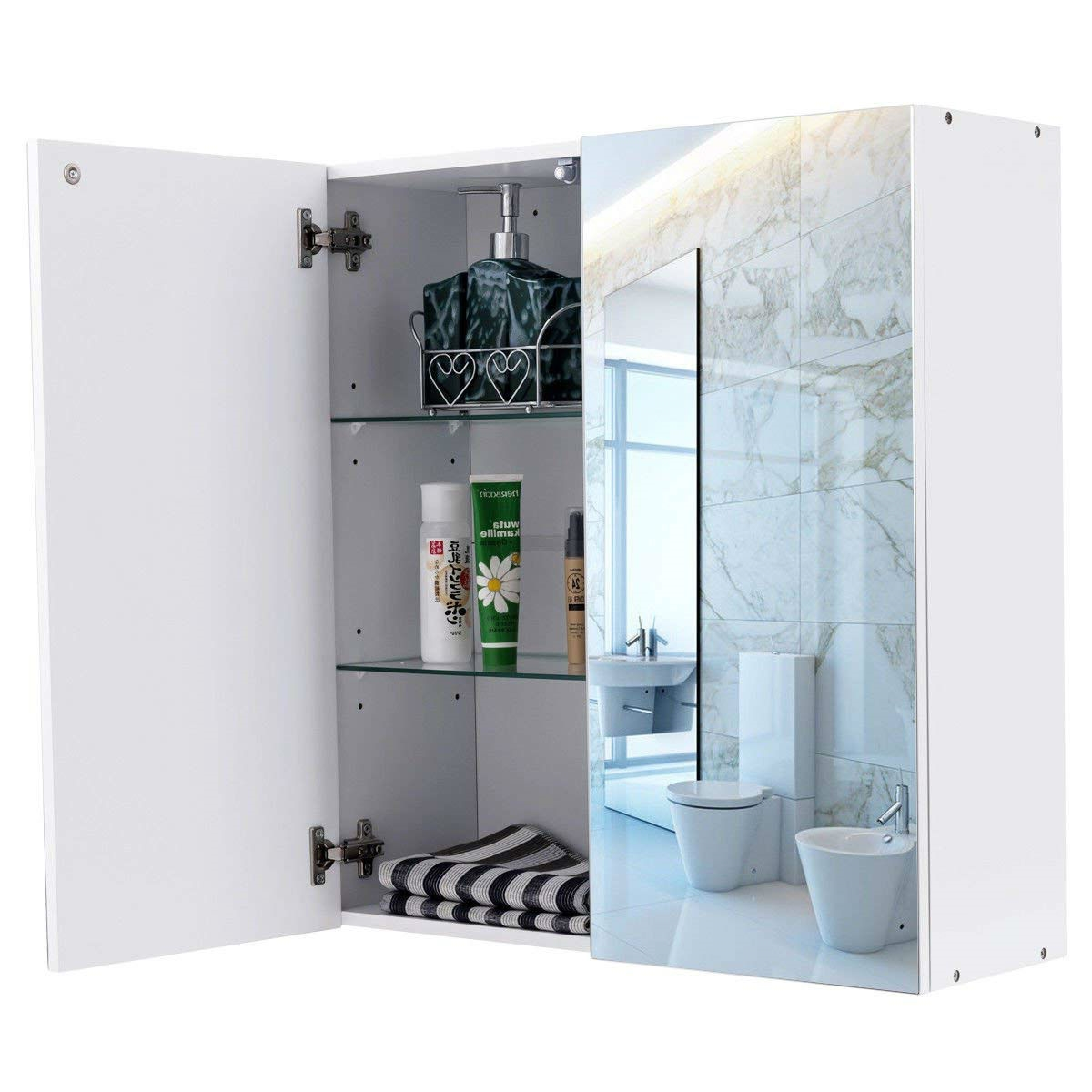 Modern 24 Inch Wall Mounted Bathroom