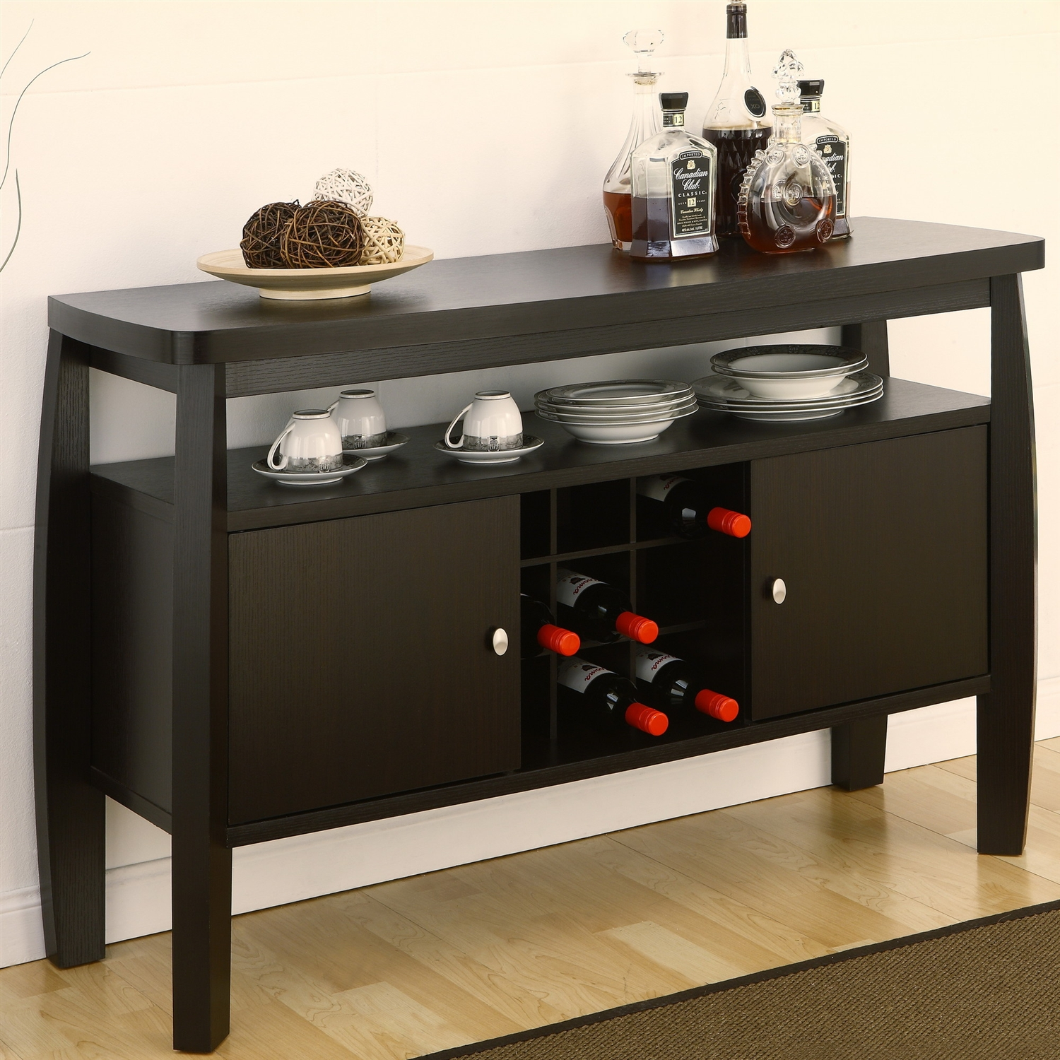 Wonderful Modern Dining Room Sideboard Buffet Server Console Table