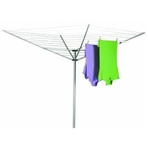 12 Line Outdoor Umbrella Style Laundry And Clothes Dryer