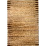 手工打结的所有自然领域米色麻地毯x