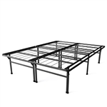 Full size 18-inch High Rise Folding Metal Platform Bed Frame