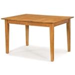 节省空间的可扩展式餐桌(橡木小屋饰面)