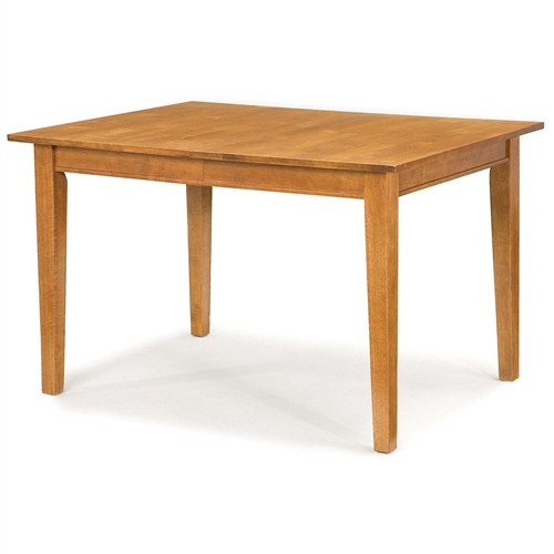 Space Saving Extendable Dining Table in Cottage Oak Finish