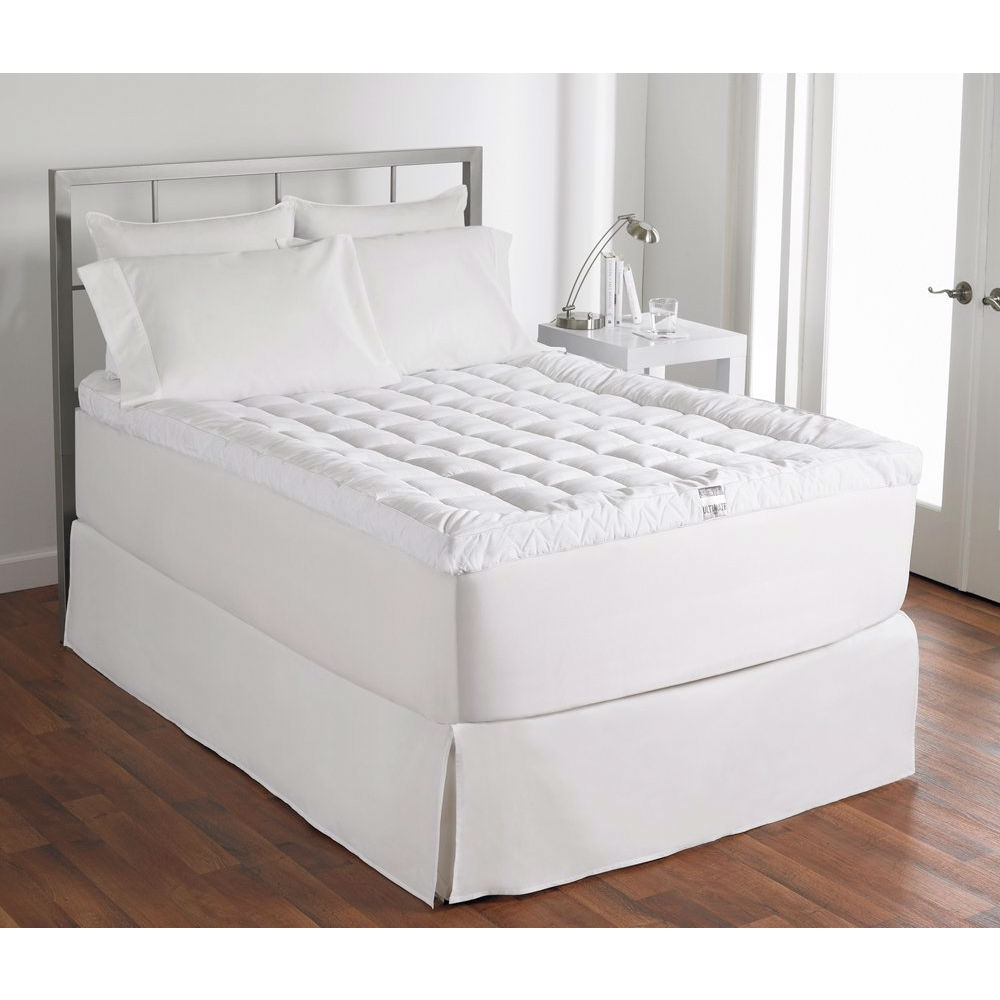 cuddle bed mattress topper Queen size 400 Thread Count Cuddle Bed Mattress Topper  cuddle bed mattress topper