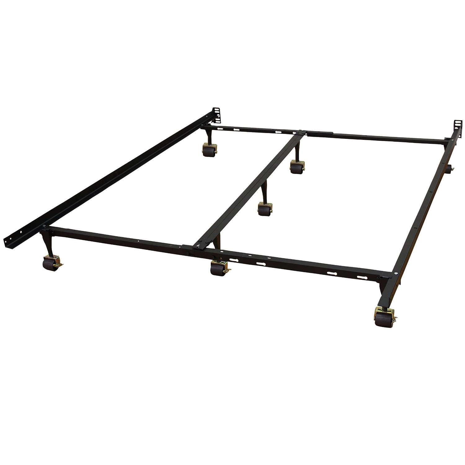 universal metal bed frame adjusts to fit twin full queen king cal king twin xl - California King Metal Bed Frame