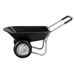 Heavy Duty Black Rust Proof Wheelbarrow