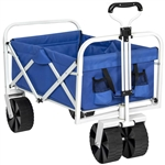 Folding Sturdy Utility Wagon Garden Cart