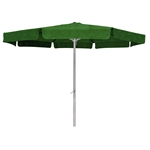 Forest Green 8-Ft Patio Umbrella with Aluminum Pole and Crank Tilt