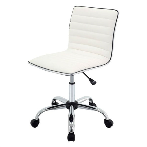 Heavy Duty White Conference Chair