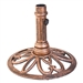 Bronze Finish Outdoor Cast Iron Patio Umbrella Base