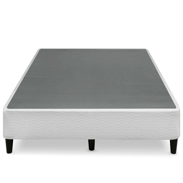 14 Inch 2-in-1 Box-Spring Foundation Bed Frame in King
