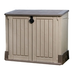 Outdoor Lawn Garden Storage Shed - 30 Cubic Feet