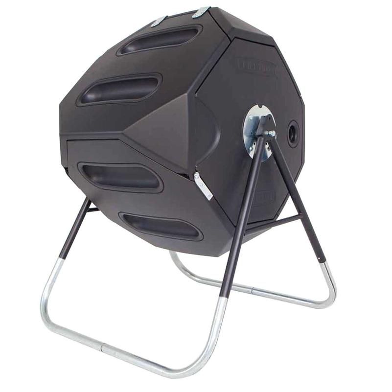 65-Gallon Compost Tumbler - Heavy Duty UV Protected