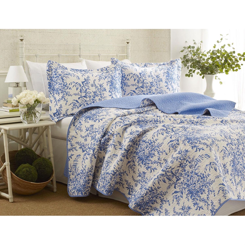100 Percent Cotton Quilt Bedspread Set