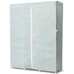 浅蓝色英寸便携式衣柜壁橱衣服存储单元