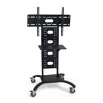 Mobile Flat Screen TV/ Monitor Stand Adjustable 37 to 59-inch High