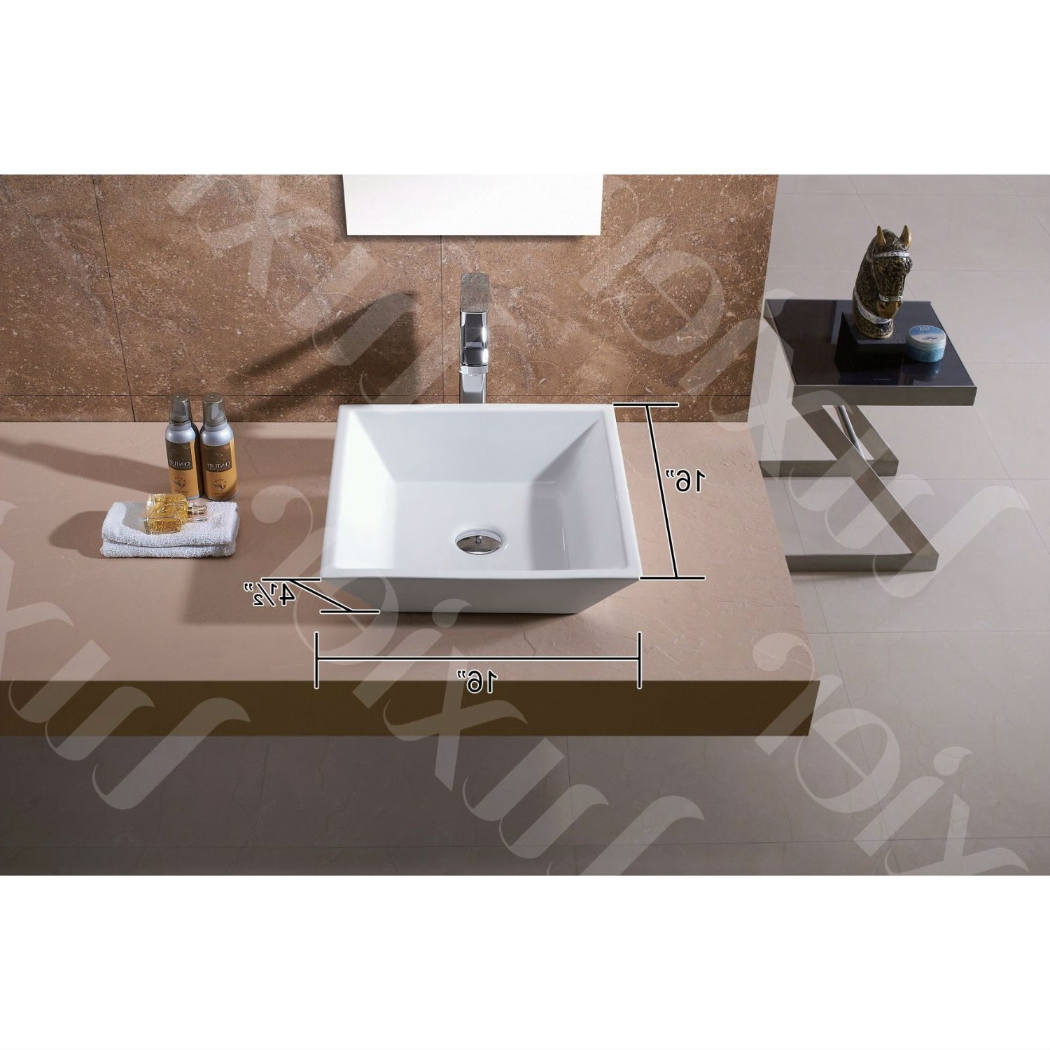 16 Inch Vanity Sink Part - 44: Retail Price: $129.00