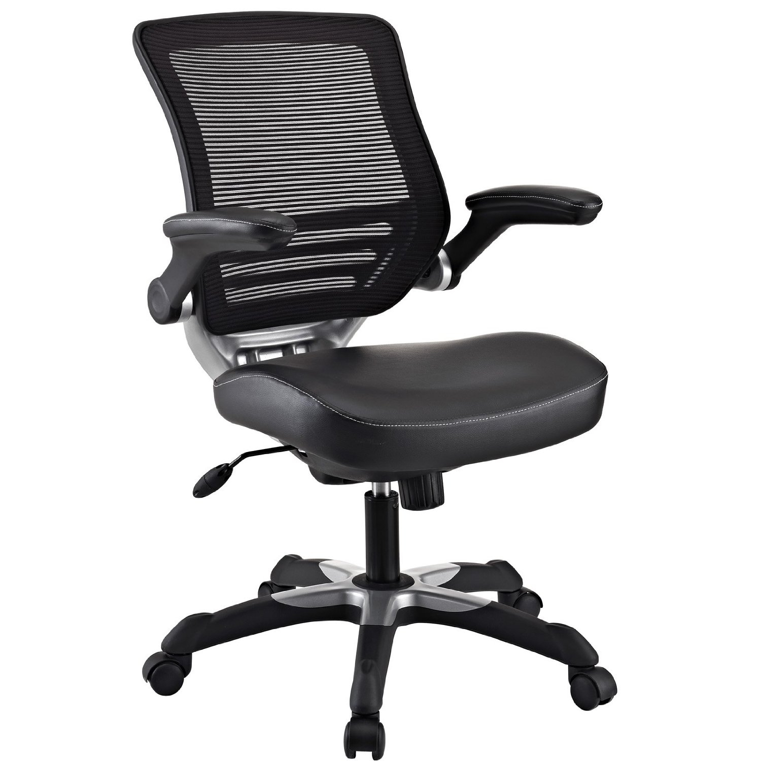 Modern Black Mesh Back Ergonomic fice Chair with Flip up Arms
