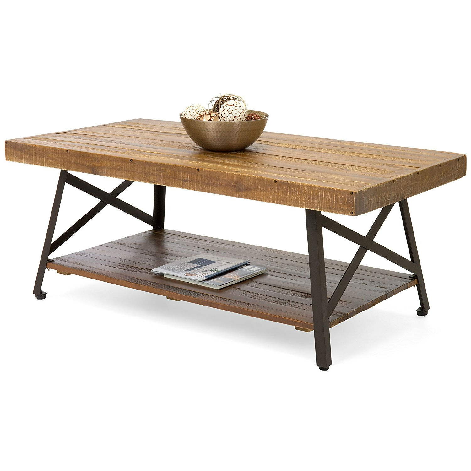 Outstanding Modern Classic Industrial Chic Reclaimed Wood And Metal Coffee Table Gamerscity Chair Design For Home Gamerscityorg