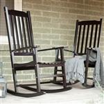 室内室外露台门廊黑色板岩摇椅一套