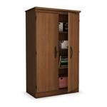 樱桃门储物柜衣柜衣橱,用于卧室客厅或家庭办公室