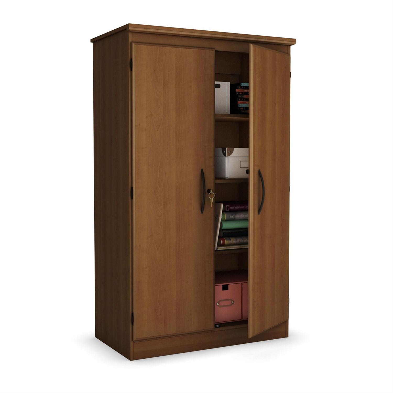 2 Door Storage Cabinet Wardrobe Armoire