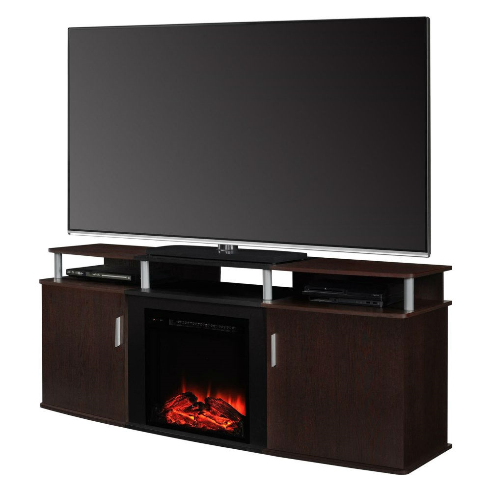 Contemporary Electric Fireplace Tv Stand Sevenstonesinc Com