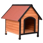 Medium size Outdoor or Indoor Wooden Dog House