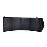 27 Watt Folding Solar Panel Batter Charger with DC 12V Output