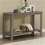 深色灰褐色木质沙发桌