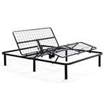 Queen size Heavy Duty Adjustable Bed Frame Base with Wired Remote