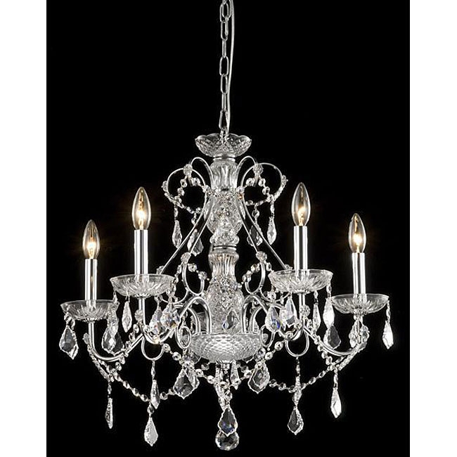 New Orleans 5 Light Crystal Chandelier Fastfurnishings Com