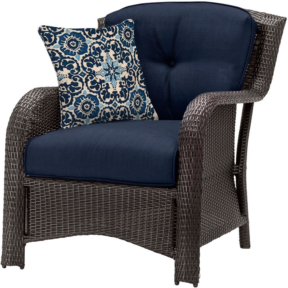 Resin Wicker Patio Furniture Lounge Set