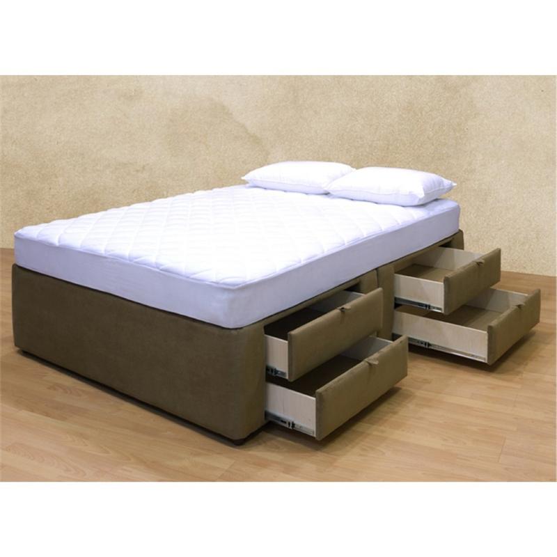 Tiffany 8 Drawer Storage Platform Bed