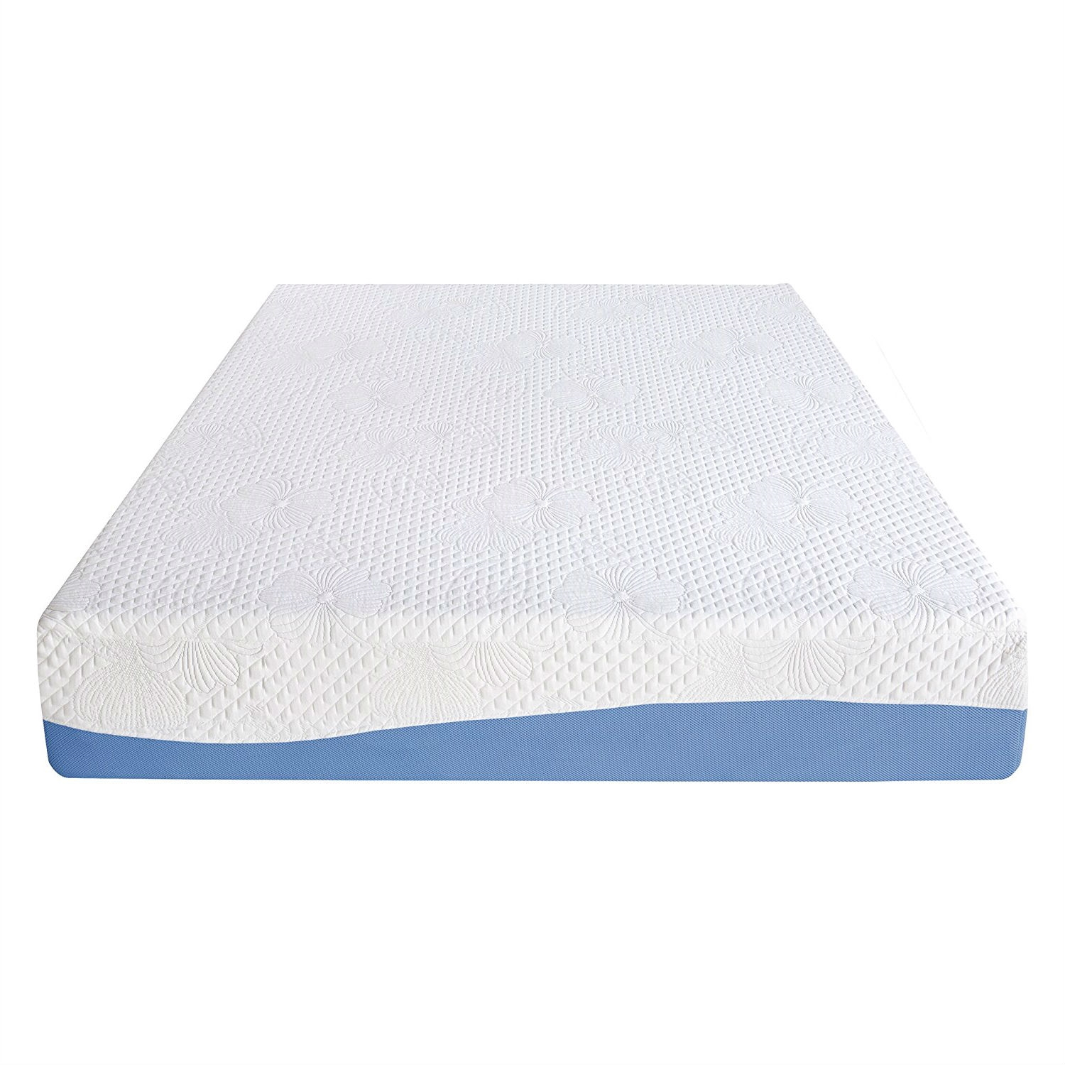 California King 10 Inch Memory Foam Mattress With Gel Infused