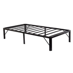 Twin XL Heavy Duty 14-inch Metal Platform Bed Frame with Storage Space