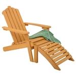 脚凳奥斯曼折叠木制阿迪朗达克椅子