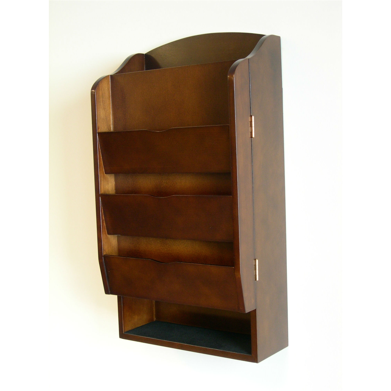 Door Wall Mount Organizer Letter Holder Mail Sorter In